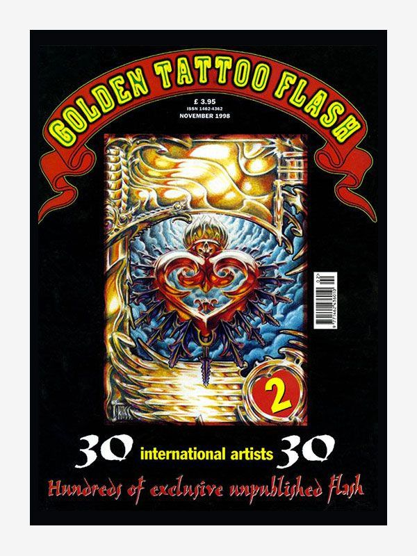 Golden Tattoo Flash volume 2