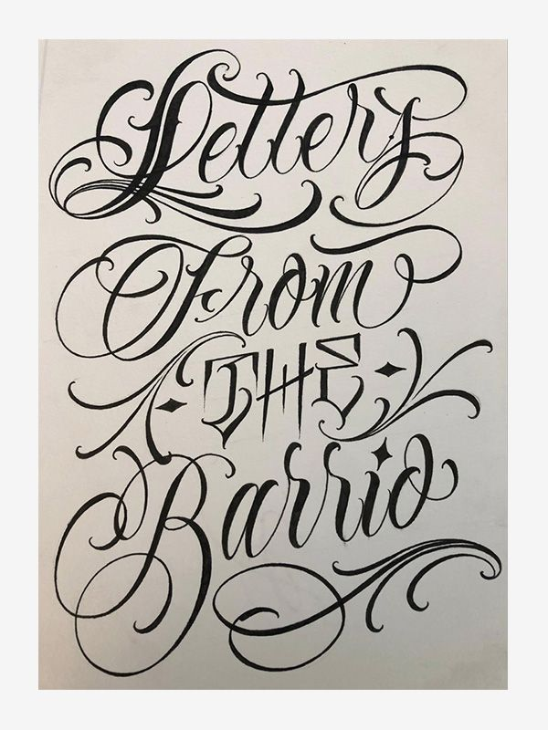 Letters from the Barrio by Brigante