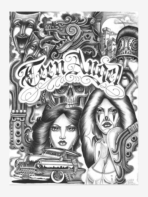 Classic Tattoo by Chuco Moreno tattoo eBook