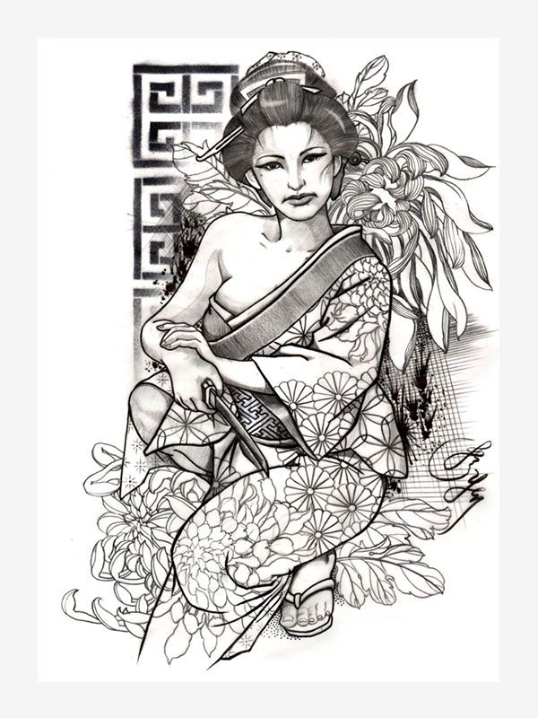 Tattoo Sketches by Jess Yen, Tattoo eBook