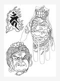 One Point Tattoo Designs by Joe Spaven, Tattoo eBook